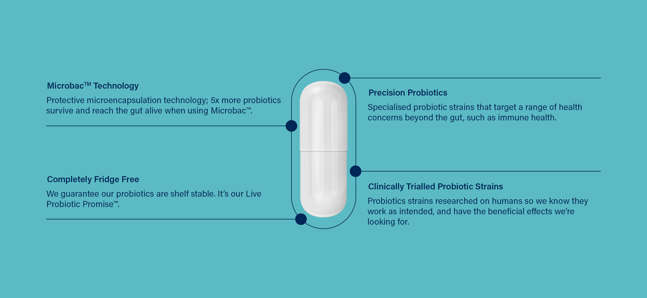Probiotic capsule